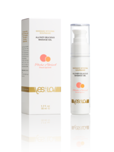 YFL01B30 - Allover delicious massage gel - Peach abricot - Transparent-Background