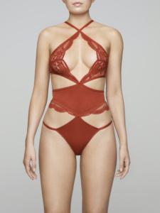 Coco de Mer CDM Muse SS20 Scarlett Bodysuit Front