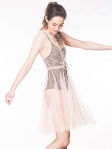 Susan-Glitter-Gown-Peach-min-1
